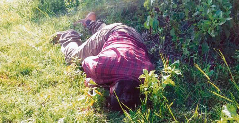Crimen. Tres hombres fueron asesinados a balazos en la cabeza, presuntamente al ser emboscados cuando salieron a cortar leña al paraje La Peñuela, de Yautepec.