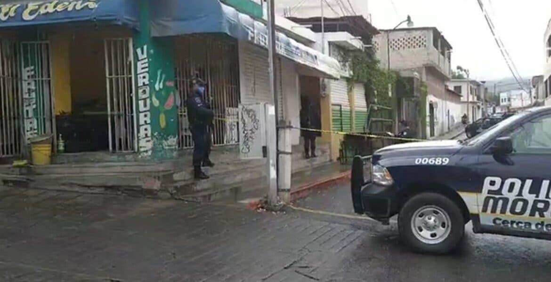Asesinan a un joven de 5 balazos en Emiliano Zapata