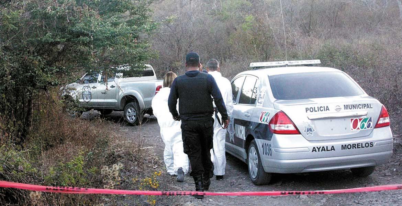 Hecho. El cadáver del activista fue abandonado el 4 de febrero de 2015 a orillas de la carretera local Ayala-Moyotepec.
