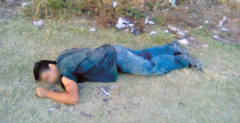 Hallazgo. El cadáver fue encontrado a la altura de una escuela.
