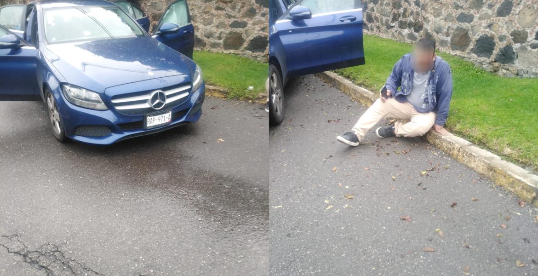 Atacan a un escolta a bordo de Mercedes Benz en Cuernavaca