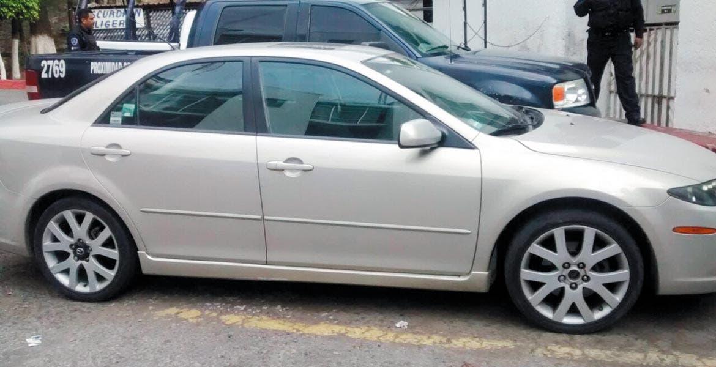 Vladimir, de 39 años, con domicilio en Ahuatepec, fue detenido tras robarse un auto Mazda 6, gris, placas PYE-6225 de Morelos