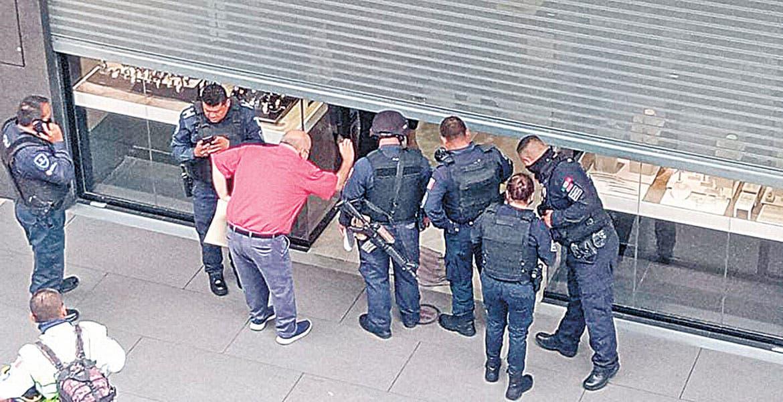 Frustran robo a joyería en Averanda, Cuernavaca