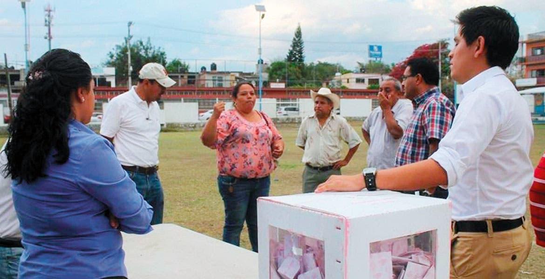 Caso Yautepec. En la colonia Lázaro Cárdenas de este municipio se presentó empate técnico.