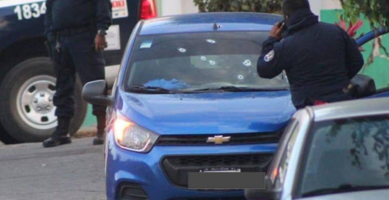 Agreden a balazos a conductor de un Didi así como a pasajero, en Cuernavaca