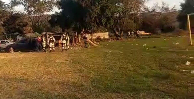 Arman balacera en campo de futbol de Jiutepec