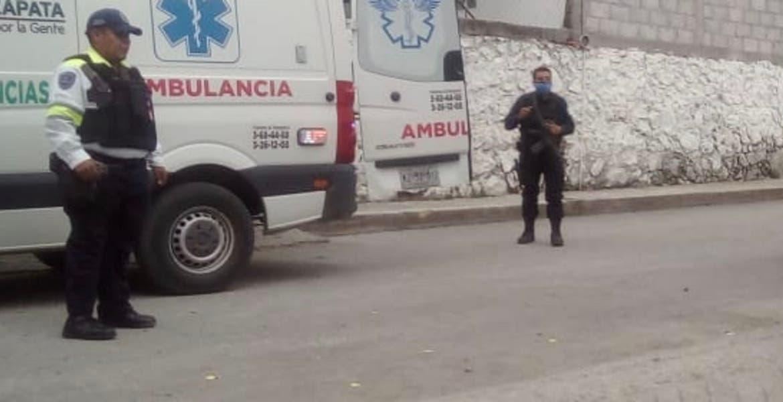 Le dan 4 balazos a un sujeto en Emiliano Zapata