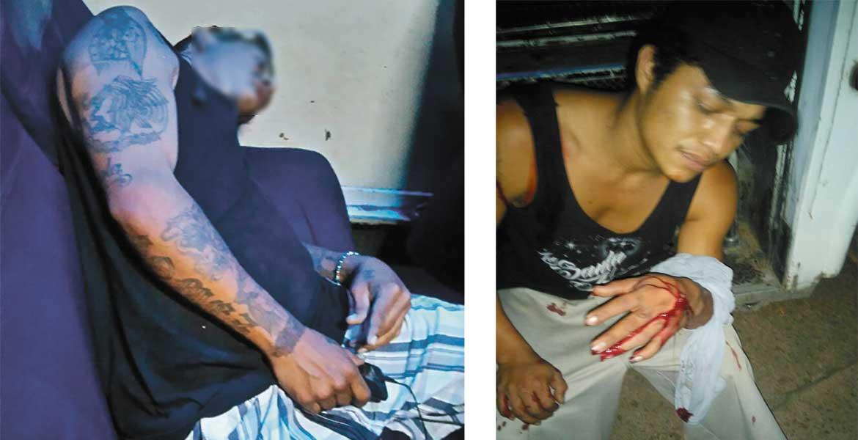 Deceso. Jesús Domingo fue asesinado a balazos a bordo de una Ruta 19. - Herido. Cristopher resultó lesionado de dos balazos en el hombro y brazo.