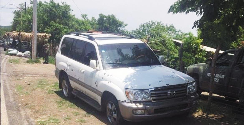 Caen tres por emboscada a agentes de la PGR en Guerrero