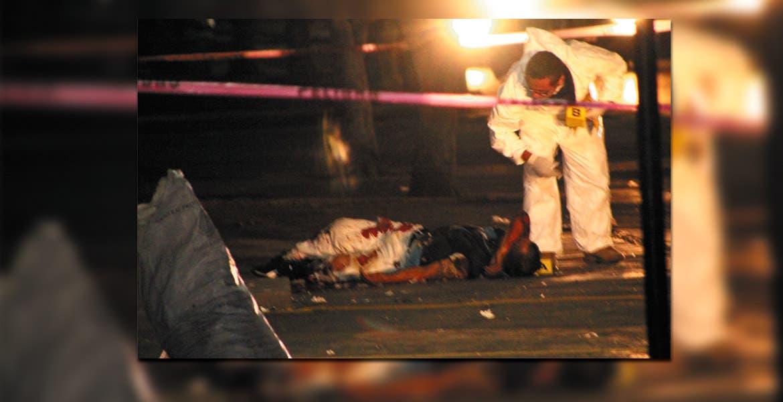 Asesinato. Jorge Armando Hernández Neri fue ultimado de 10 balazos, tras ser emboscado en un negocio de micheladas de la Barona.