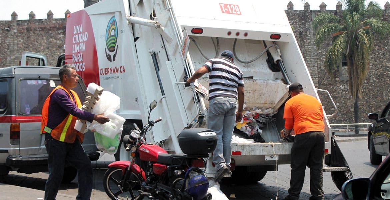 Servicio. Los camiones son rentados por el Ayuntamiento a una empresa.