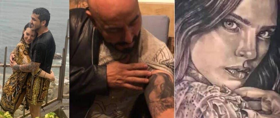Belinda y Christian Nodal son novios, pero redes tunden a Lupillo Rivera por tatuaje