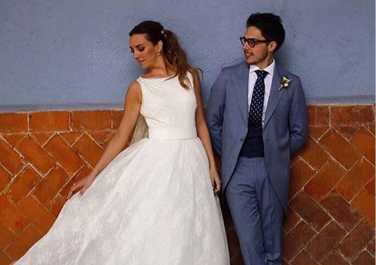 Regina Blandón y Roberto Flores ya son marido y mujer