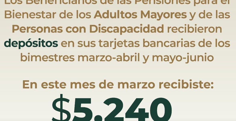 Casa por casa entregarán pensión a adultos mayores en Morelos
