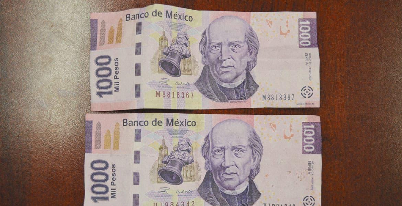 Circulaban Billetes Falsos De Mil Pesos Diario De Morelos