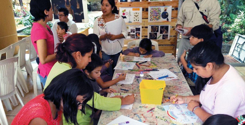 Participación. Mediante talleres, los menores conocieron las especies que habitan la entidad, algunas de las cuales son endémicas y otras se encuentran en peligro de extinción.