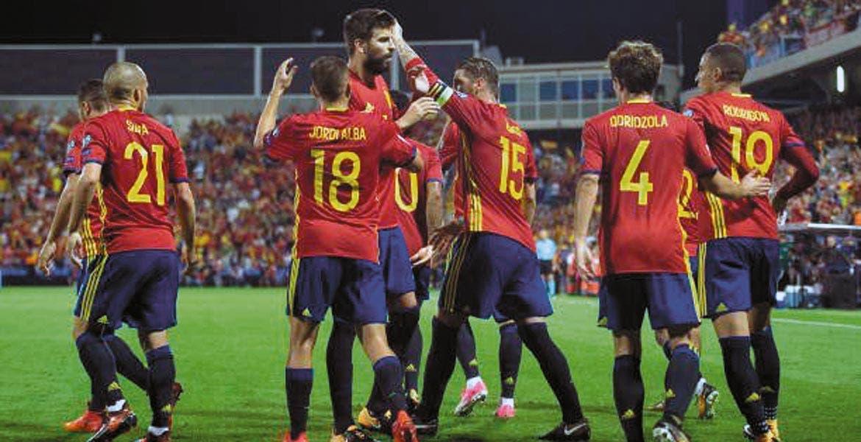 España clasificó y mandó a Italia al repechaje