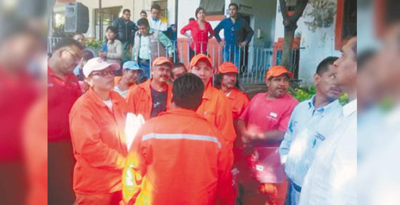 Logro. Por primera vez trabajadores de limpia, de parques y jardines y del panteón de La Paz, recibirán recursos extras en diciembre.