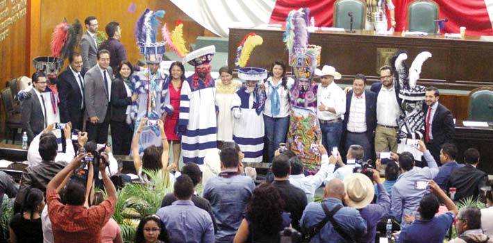 Declaran a carnavales y brinco del Chinelo patrimonio inmaterial de Morelos