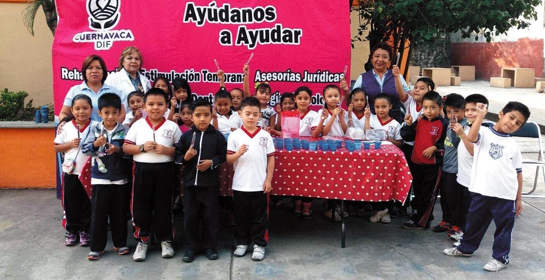Prevención. Llevan pláticas de salud bucal a primarias y secundarias de Cuernavaca