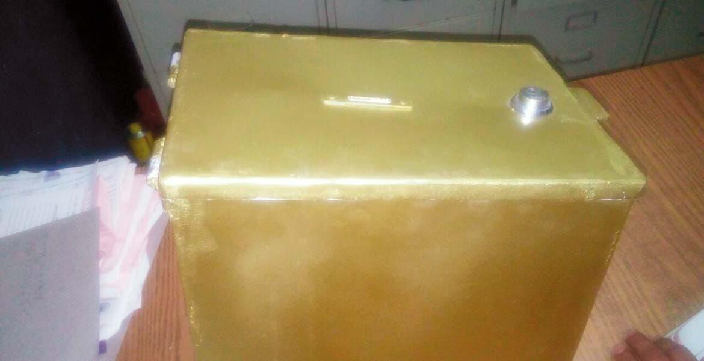 Atraco. Brandon Usiel se robó la caja de las limosnas de la iglesia de La Asunción, en el Centro de Yautepec.