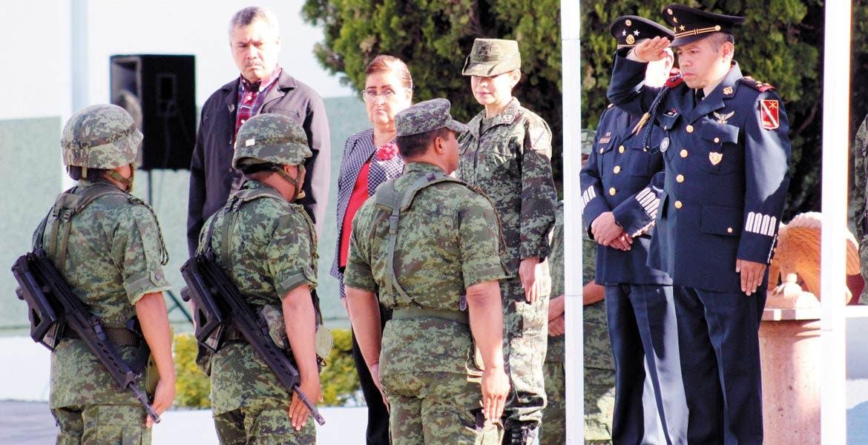 Rotaciones. El Coronel de Infantería Diplomado de Estado Mayor Rubén Ortiz Cano, fue nombrado como comandante del 21 Batallón de Infantería.