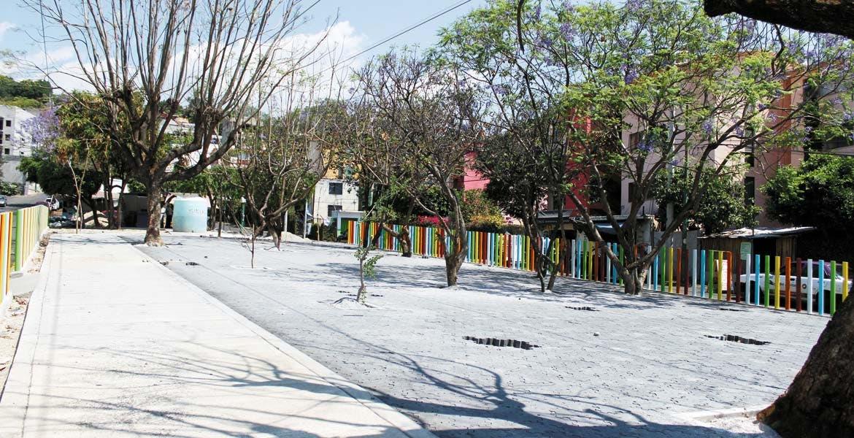 Imagen. Nueva vista tendrá la colonia Lomas de Cortés en la parte que cruza la avenida Teopanzolco. Rescatan espacios públicos.