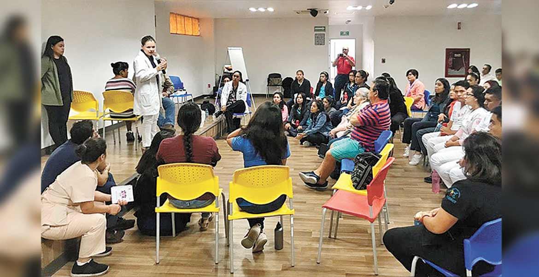 Capacitan en DIF Morelos sobre pie diabético