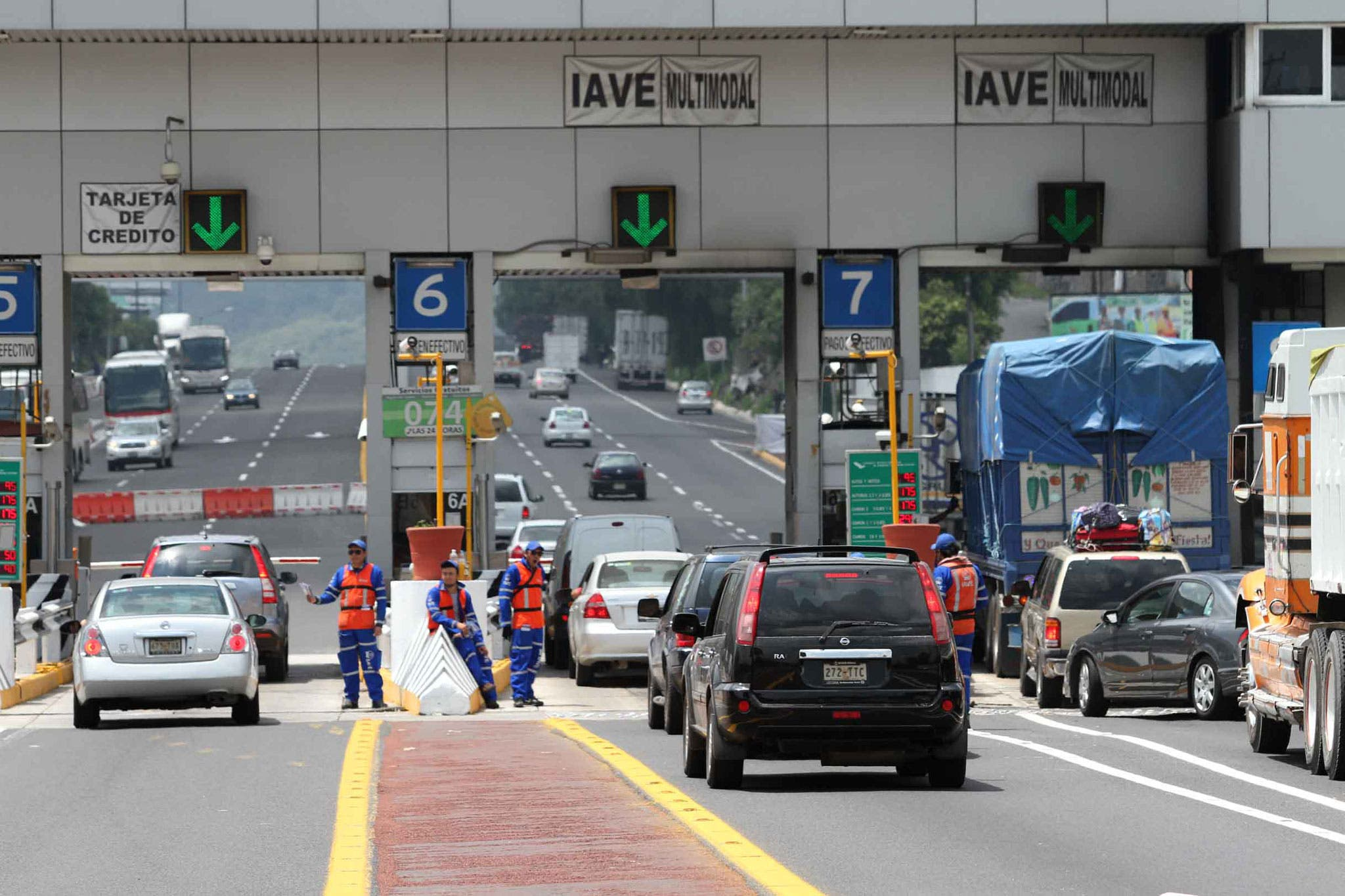 Aumenta 3.9% la tarifa de red carretera a partir de este jueves