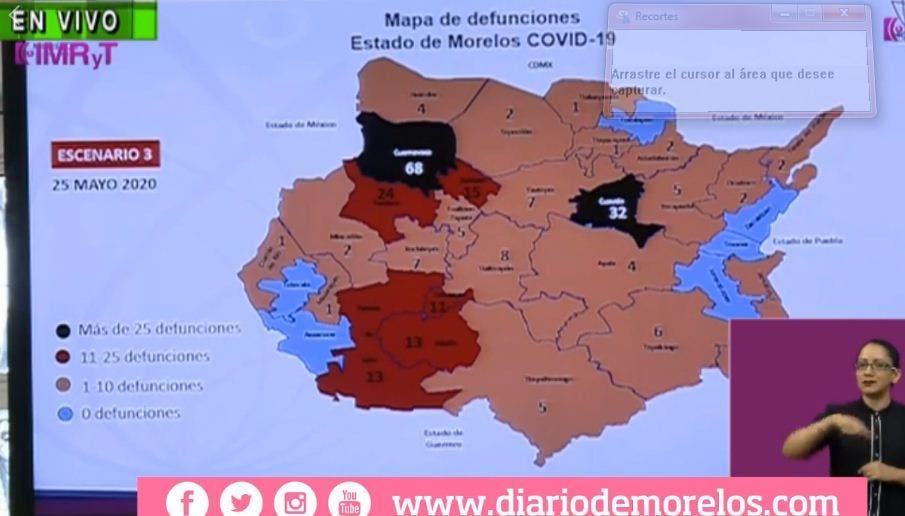 Aumentan casos COVID-19 en Morelos