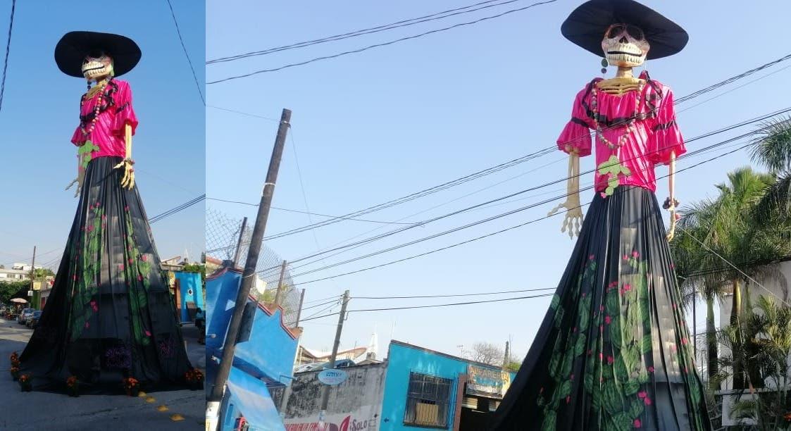Morelos estrena una catrina monumental. ¿Sabes dónde está?
