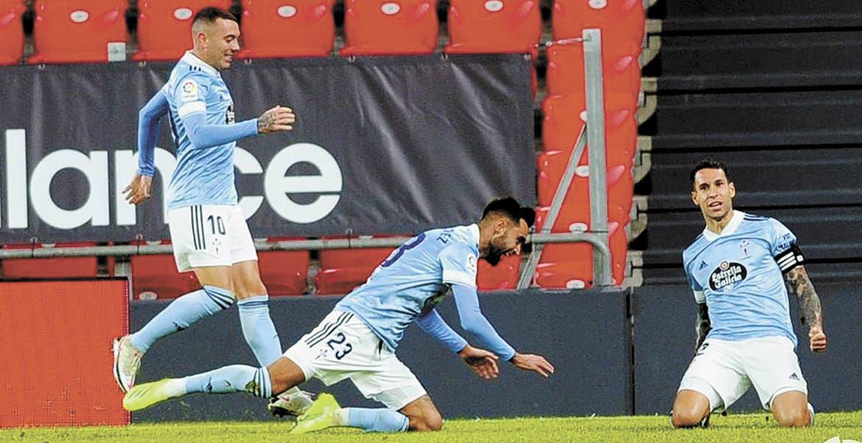 Celta de Vigo sale del descenso