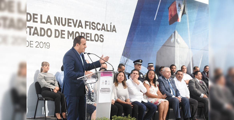 Cero tolerancia a delincuencia, sentencia el Gobernador Cuauhtémoc Blanco