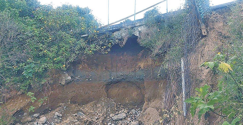 Dan 2 semanas para reparar afectación por deslave en Cuernavaca - Diario de Morelos