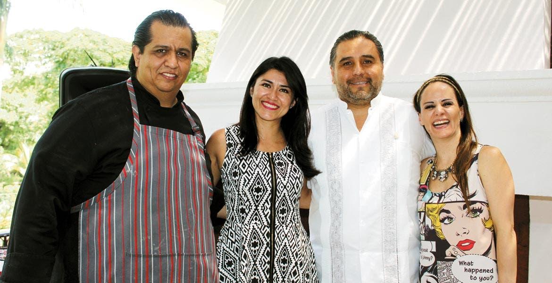 Luis Portillo, Alejandra Rivas, Manuel Oviedo y María Fernanda Anaya