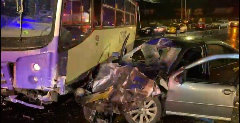 Fatal choque en la México-Cuernavaca: 1 muerto y 6 heridos