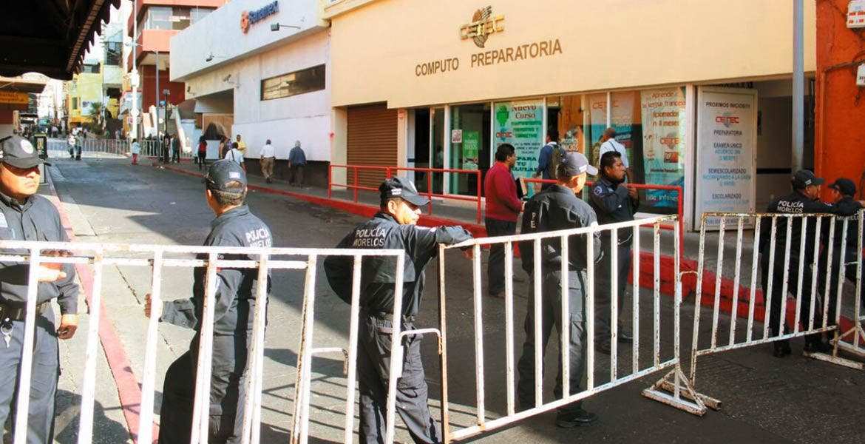 Dispositivo. Las calles aledañas al Congreso permanecieron cerradas para evitar la presencia de manifestantes.