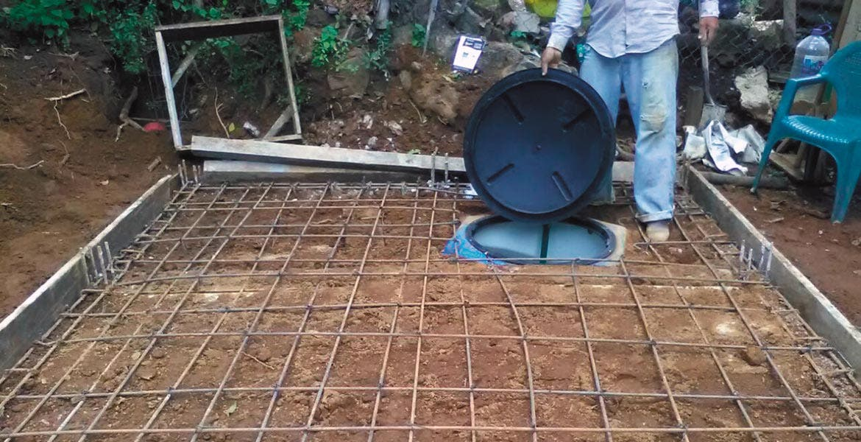 Supervisa cuernavaca avance de cisternas de agua potable for Cisternas de agua a domicilio
