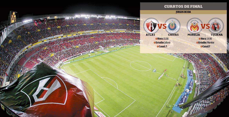 Avanza Chivas a semifinales; vencen 1-0 al Atlas