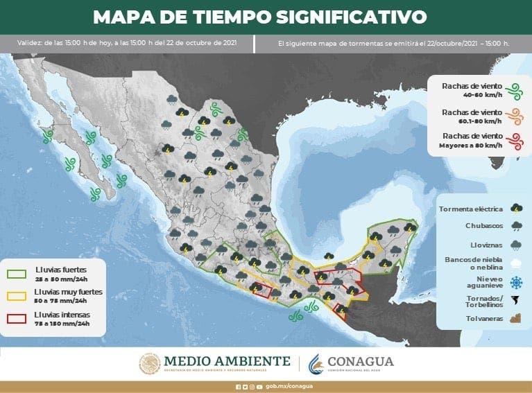 Así estará el clima para este fin de semana en Morelos