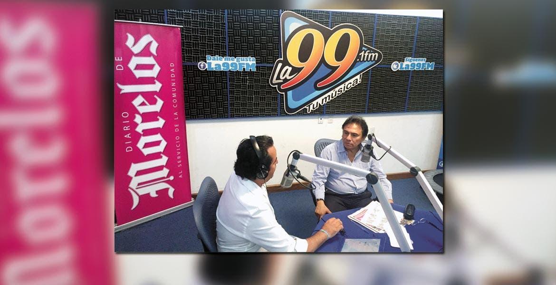 Entrevista. Jorge Arturo Olivares Brito señaló que el interés de la Comisión de Derechos Humanos del Estado de Morelos es que no se lucre con las víctimas y que el caso no se tome como bandera política por grupos o personas -haciendo referencia a Sicilia.