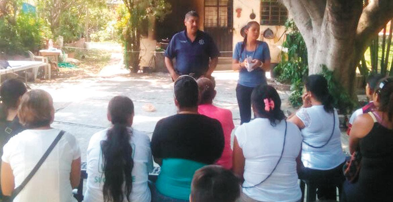 Proyecto. Cincuenta y dos comités de vigilancia existen en Temixco como parte del programa Comunidad Segura.