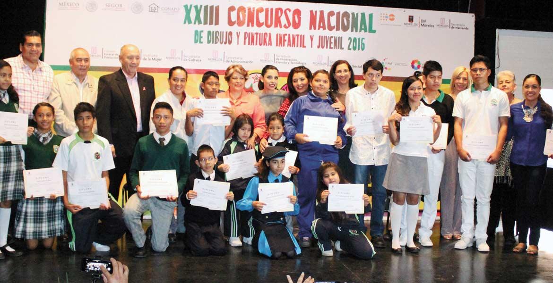 Participantes. Estudiantes de 42 escuelas pertenecientes a 11 municipios concursaron con sus dibujos que tenían como temática prevenir la violencia.
