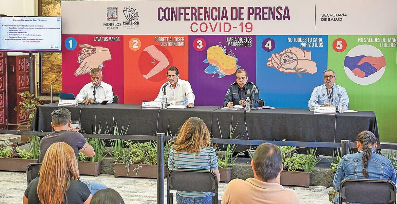 Aumenta a 5 casos de COVID-19 en Morelos