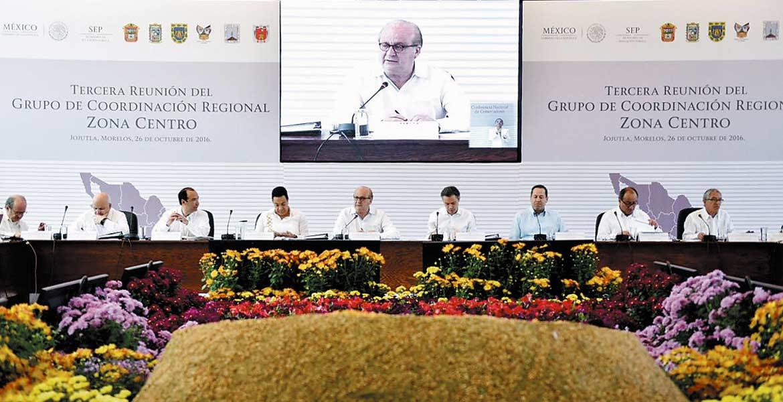 Encuentro. En Jojutla se desarrolla la Tercera Reunión del Grupo de Coordinación Regional Zona Centro de la Conferencia Nacional de Gobernadores (Conago)-SEP.
