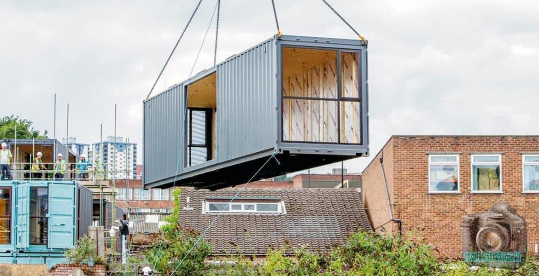 Proponen contenedores mar timos para vivienda diario de - Casa con contenedores maritimos ...