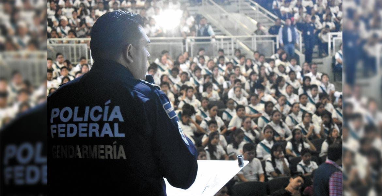 Evento. Miguel Ángel Martínez, director de Proximidad Social de la Gendarmería, mencionó que con el programa buscan tener escuelas libres de violencia.