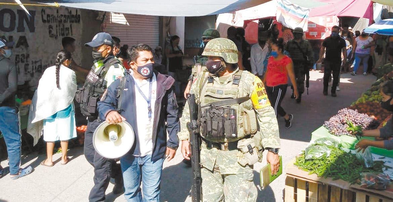 Piden aislamiento social en Xoxocotla y...