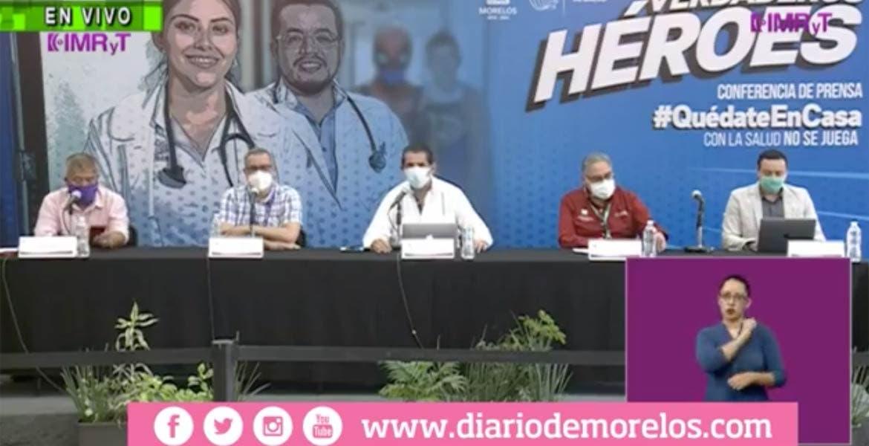 Aumentan casos COVID-19 en Morelos.
