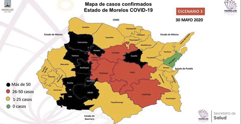 Morelos, en máxima alerta por COVID-19: Salud